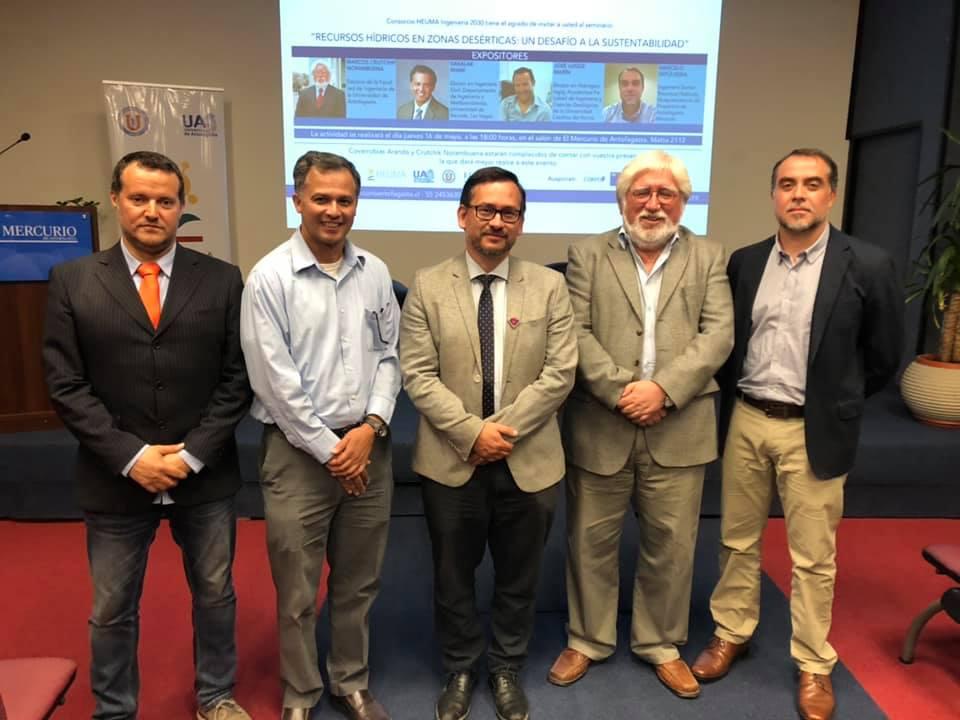 """Exitoso Seminario """"Recursos Hídricos en Zonas Desérticas: Un Desafío a la Sustentabilidad"""""""