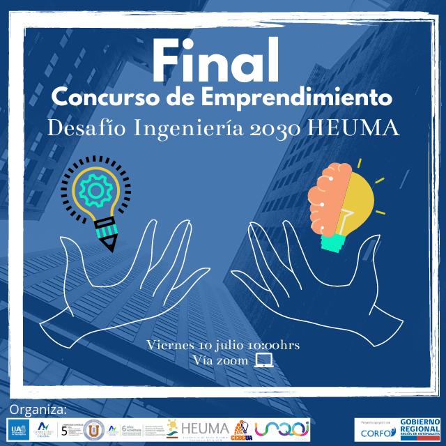 Final Concurso Emprendimiento Desafío Ingeniería 2030